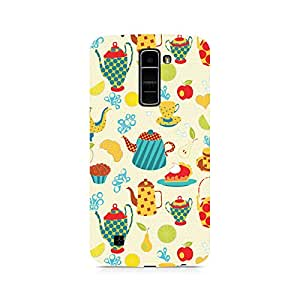 Motivatebox- Where's My Tea Premium Printed Case For LG K7 -Matte Polycarbonate 3D Hard case Mobile Cell Phone Protective BACK CASE COVER. Hard Shockproof Scratch-