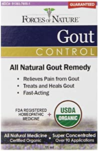 Forces of Nature Gout Pain Management, 11 ml
