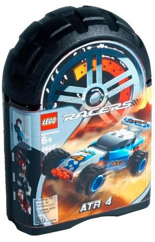 Lego - ATR 4 - Racers - 1