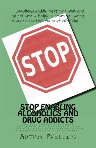 Stop Enabling Alcoholic and Drug Addicts: Helping an addict can be harmful if it allows them to continue spiraling downward in their addiction. (Volume 1)