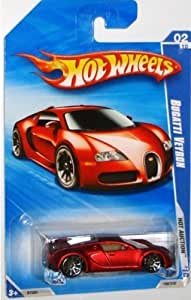 hot wheels 2010 160 red bugatti veyron hot auction 1 64 scale toys games. Black Bedroom Furniture Sets. Home Design Ideas