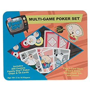 Family Guy games: Poker Set!