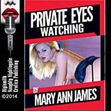 Private Eyes Watching: An Erotica Story (       UNABRIDGED) by Mary Ann James Narrated by Layla Dawn