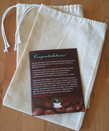 Reusable Cold Brew Coffee Filter Bag