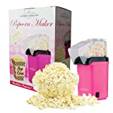 Gourmet Gadgetry Kids Fun Time 2 in 1 Bundle Fast Pop Corn Maker and Candy Floss Maker - Pink