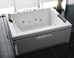 Whirlwanne Babilon Spa Whirlpool Bath for 2 people