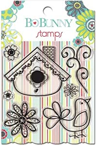 Bo Bunny Press - Alora Collection - Clear Acrylic Stamp