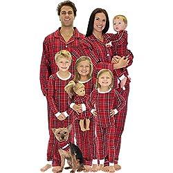 19b029ebe5 SleepytimePjs Family (including dog) Matching Pajamas Dog Cat Bandana