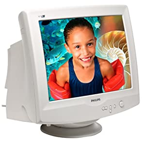 "Philips 107S Standard Series 17"" CRT Monitor"