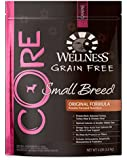 Wellness CORE Grain Free Small Breed Turkey & Chicken Natural Dry Dog Food, 4-Pound Bag