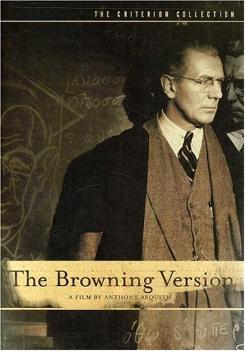 Cover art for  The Browning Version (The Criterion Collection)