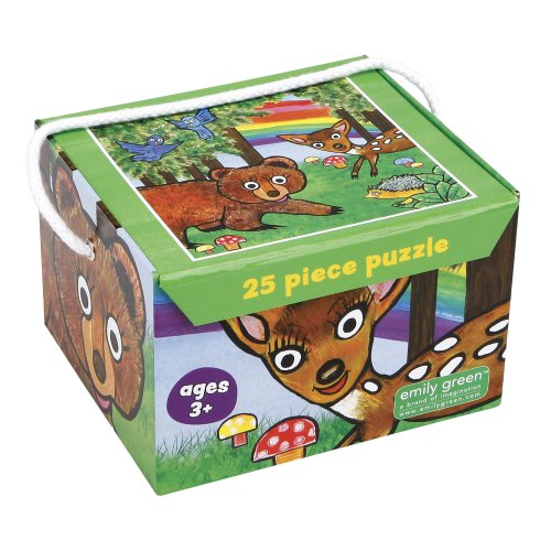 Emily Green Jigsaw Puzzle, Oh Deer, 25-Piece - 1