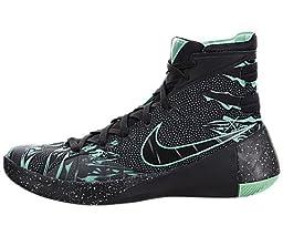 Nike Hyperdunk 2015 Black/Green Mens Basketball 13