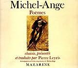 echange, troc Michel-Ange - Poèmes, édition bilingue (français/italien)