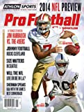 img - for 2014 Athlon Sports NFL Pro Football Magazine Preview- San Francisco 49ers/Oakland Raiders Cover book / textbook / text book