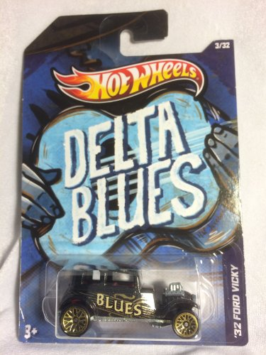 Hot Wheels Delta Blues '32 Ford Vicky 3/32 - 1