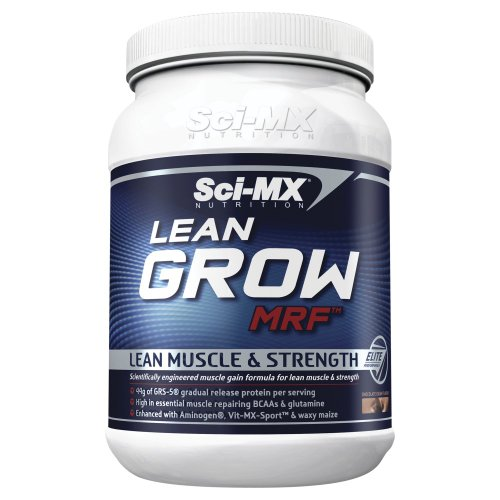 Sci-MX Nutrition Lean Grow MRF 1000 g Chocolate Lean Muscle and Strength Shake Powder