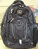 High Sierra Business Elite Backpack Black Fits 17'' Laptop with Tablet Storage & Suspended Back Panel