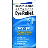 Bausch & Lomb Advanced Eye Relief Dry Eye Rejuvenation Lubricant Eye Drops -0.5 Oz, 3 Pack