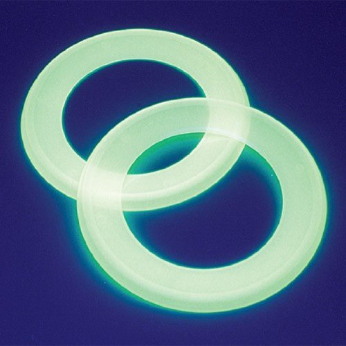 Dozen Glow In The Dark Ring Flying Disks