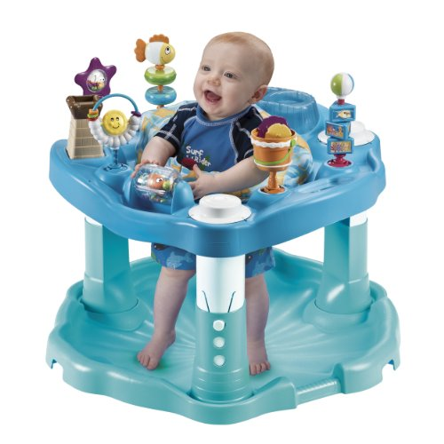 Evenflo Exersaucer Bounce & Learn, Beach Baby