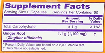 NOW Foods Ginger Root (Pack of 3)