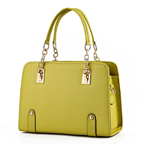 heykiss-lady-classical-simple-high-quality-fashion-handbagapple-green