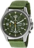 Seiko Men's SNDA27 Green Dial Watch