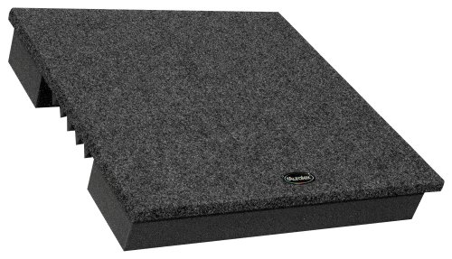 Auralex Ampdude 3 Inches High, 15 Inches By 15 Inches Amplifier Acoustic Isolation Platform, Charcoal