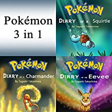 Pokemon: Diaries and Unofficial Stories 3 in 1 Book Audiobook by Tagashi Takashima Narrated by John H. Fehskens