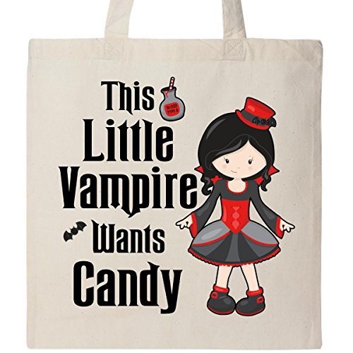 This Little Vampire Wants Candy Tote Bag