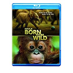 IMAX: Born to Be Wild (Movie-Only Edition + UltraViolet Digital Copy) [Blu-ray]