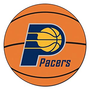 FANMATS NBA Indiana Pacers Nylon Face Basketball Rug by Fanmats