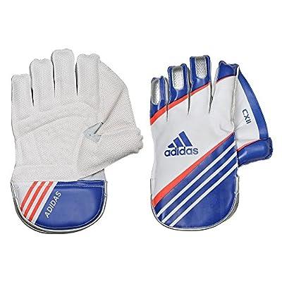 Adidas Cx 11 16 Wicket Keeper Gloves, Men's Medium (White)