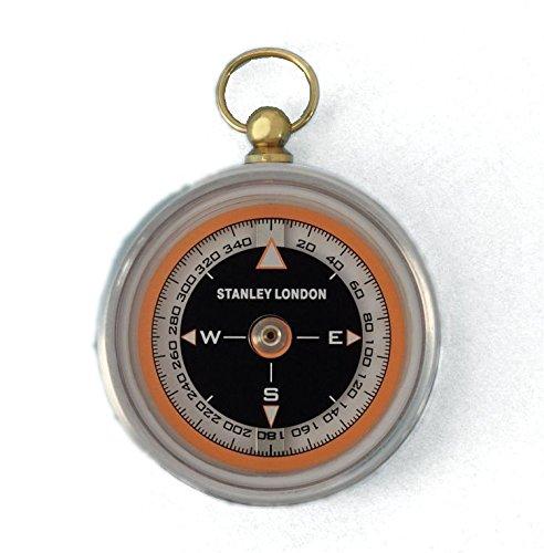 Aluminum Aviator's Pocket Compass