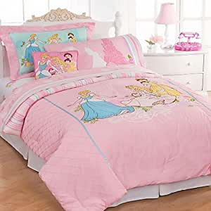 Amazon com: Disney Princess Elegance Bedding Comforter