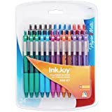 Paper Mate InkJoy 300 RT Retractable Medium Point Ballpoint Pens, Assorted Colors, 24 Pack (1781568) (2, A)