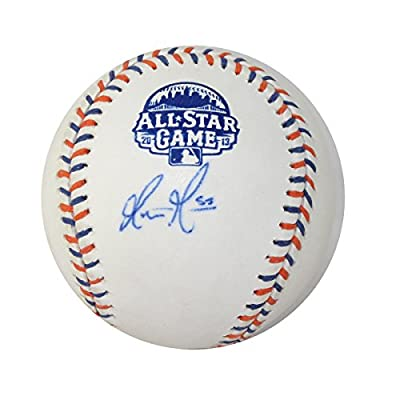 Matt Moore Autographed Tampa Bay Rays All Star Game Baseball with Grandstand Cube Included - Certified Authentic