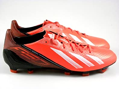 Adidas Adizero F50 TRX FG Infrared Red Black Syn Soccer Cleats Men Shoes q33848 by adidas