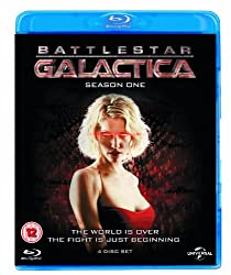 Battlestar Galactica: Season1 (2004) [Blu-ray] [Region Free]