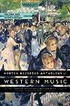 Norton Recorded Anthology of Western...