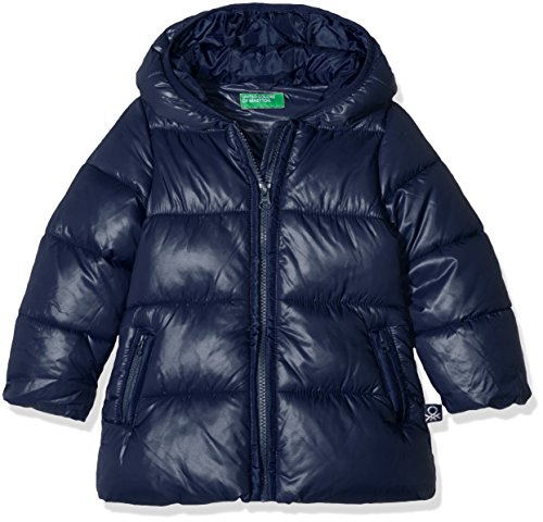 United Colors of Benetton 2EO0538F0, Giacca Bambina, Blu (Navy), 4-5 Anni
