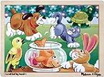Melissa & Doug Playful Pets Jigsaw (1...