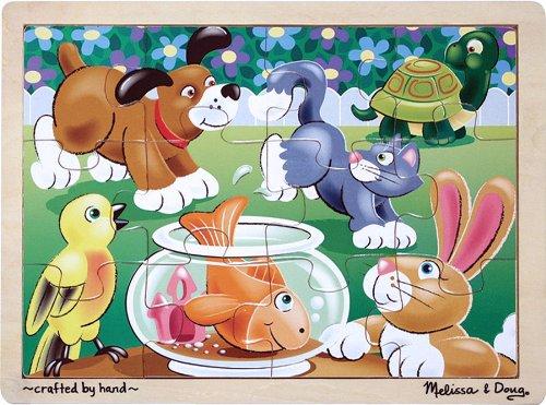 Melissa & Doug Playful Pets Puzzle