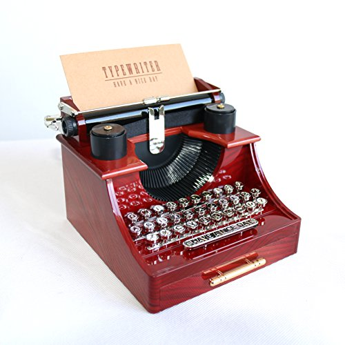 Alytimes Vintage Typewriter Music Box for Home/Office/Study Room Décor Decoration 0