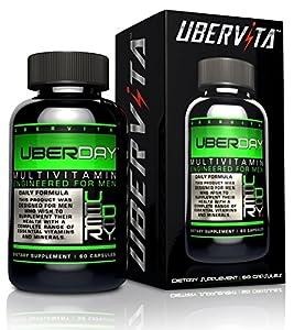 Uberday Mens Multivitamin Superior And Optimum Quality Mens Dietary Supplement from Ubervita