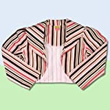 CANDY STRIPES Baby and Toddlers lined Gaucho Jacket
