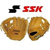 野球用品 一般軟式グラブ SSK(エスエスケイ) トライチャージ 二塁・遊撃手用 サイズ6S コルクタン TCG140F-48-L