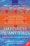 img - for Happiness Quantified: A Satisfaction Calculus Approach book / textbook / text book
