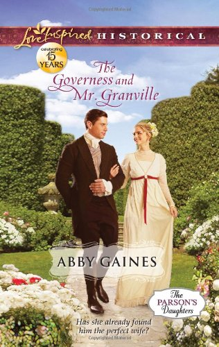 Image of The Governess and Mr. Granville (Love Inspired Historical)